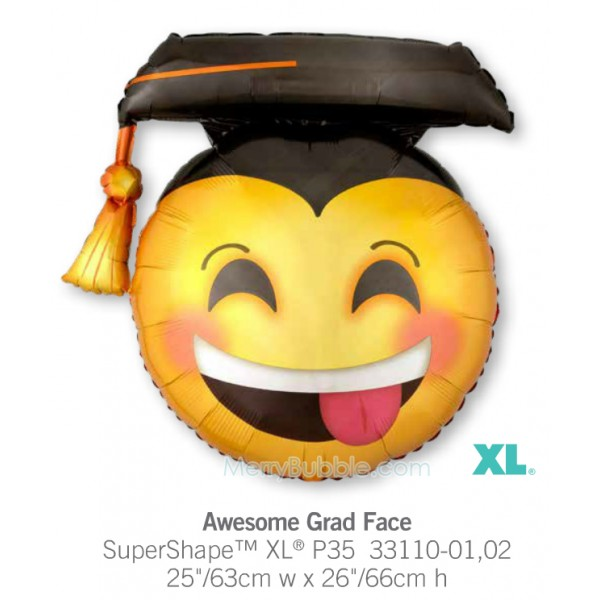 Awesome Grad Face 33110
