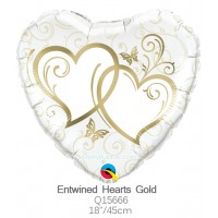 Entwined Hearts Gold q15666