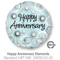 Happy Anniversary Diamonds 24550