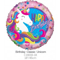 Birthday Classic Unicorn