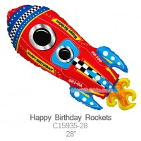 Happy Birthday Rockets c15935-28