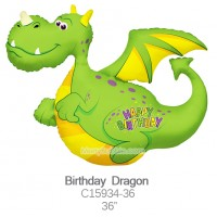 Birthday Dragon c15934-36
