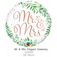 Mr & Mrs Elegant Greenery q10402