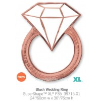 Blush Wedding Ring 39715