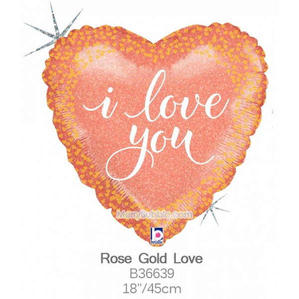 Rose Gold Love b36639
