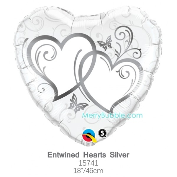 Entwined Hearts Silver