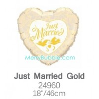 Just Married Gold