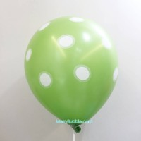12 inch Dotted (Green)
