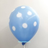 12 inch Dotted (Blue)