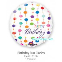 Birthday Fun Cirlces