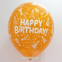 12 inch Birthday (Crystal Orange)