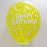 12 inch Birthday (Crystal Yellow)