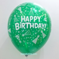 12 inch Birthday (Crystal Green)