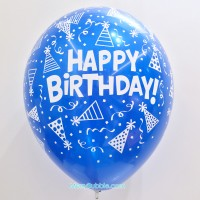 12 inch Birthday (Crystal Blue)