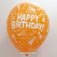 12 inch Birthday (Pastel Orange)