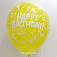 12 inch Birthday (Pastel Yellow)