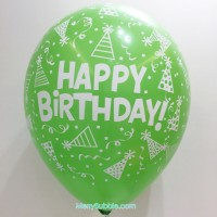 12 inch Birthday (Pastel Green)